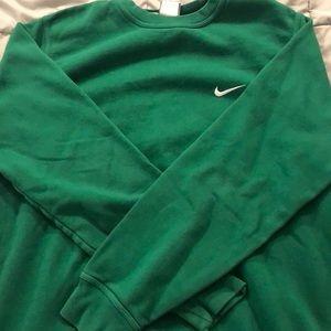 Nike Sweaters - Green Nike sweater
